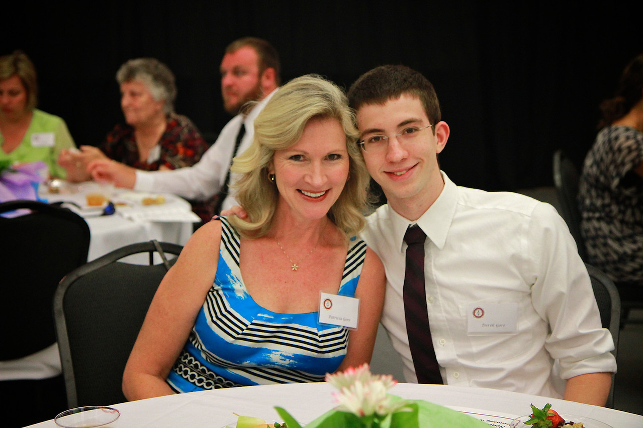 Senior Pinning Ceremony; Spring 2012.