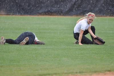 Savannah Burns and Jane Savage vs Charleston Southern on April 21, 2012.