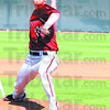 Submitted photo/Phil Smith<br /> Armed & ready: Derek Eitel throws a pitch during spring training at Scottsdale, Ariz.
