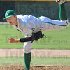 Tribune-Star/Jim Avelis<br /> In control: West Vigo pitcher Brandon Calleja had a good outing for the mound for the Viking's in their game with North Vermillion.