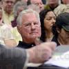 Von Leer: Hunter Von Leer listens to his attorney Hunter J. Reece during Monday's meeting at the Vigo County Annex.