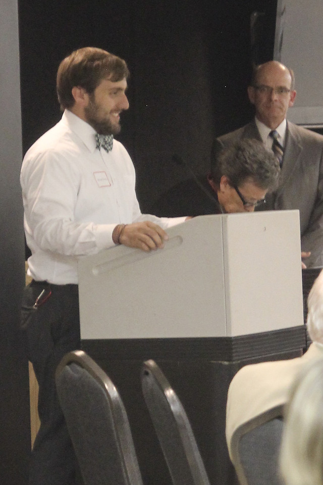 Michael Heredia, one of several recipients