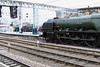 26 April 2012 :: 2 steam locos in the same view at Carlisle! 46233 Duchess of Sutherland with Black 5, 45305 on the adjacent platform