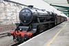 """26 April 2012 :: Black 5 45407, """"The Lancashire Fusilier"""" at Carlisle"""