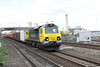 30 April 2012 :: 70001 on the main line at Didcot with 4O51, Wentloog to Southampton prior to failing later in its journey at Worting