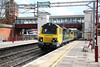 17 April 2012 :: At Harrow and Wealdstone 70017 with 4M54, Tilbury to Crewe