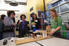 """Slice of Pi"" celebration, hosted by DSST Public Schools on the Stapleton campus in Denver, Colorado, on Friday, April 13, 2012.<br /> Photo Steve Peterson"