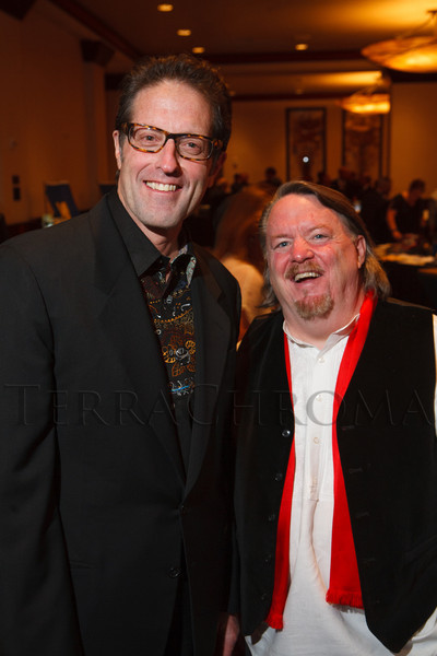 Dr. Dean Prina and Thom Wise.  The 2012 HRC Mile High Gala, benefiting Human Rights Campaign Colorado, at the Grand Hyatt Denver in Denver, Colorado, on Saturday, April 21, 2012.<br /> Photo Steve Peterson