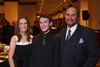 Cindy Bennet, Cody Medina, and Ted Medina.  The 2012 HRC Mile High Gala, benefiting Human Rights Campaign Colorado, at the Grand Hyatt Denver in Denver, Colorado, on Saturday, April 21, 2012.<br /> Photo Steve Peterson