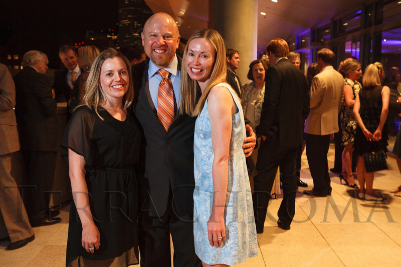 Mackenzie Lane, Craig Crescas, and Michaela Spiel.  The History Colorado Grand Opening Celebration at the History Colorado Center in Denver, Colorado, on Wednesday, April 25, 2012.<br /> Photo Steve Peterson