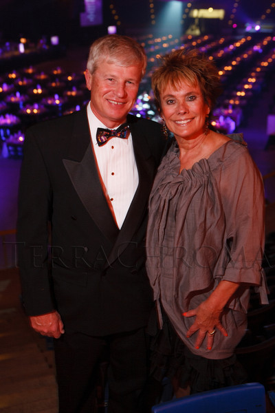 Mark and Jeanne Balent.  The 2012 NightShine Gala, benefiting the Denver Health Foundation, at the National Western Events Center in Denver, Colorado, on Saturday, April 28, 2012.<br /> Photo Steve Peterson