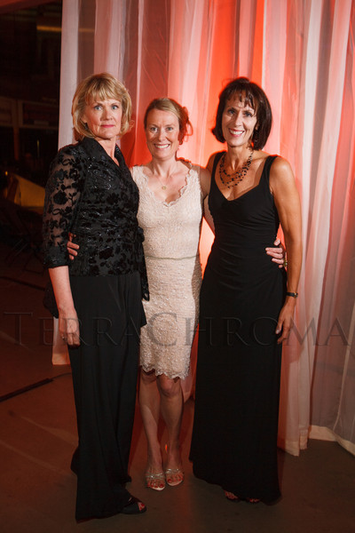 Annette Callahan, Beth Schulte, and Kendra Moldenhauer.  The 2012 NightShine Gala, benefiting the Denver Health Foundation, at the National Western Events Center in Denver, Colorado, on Saturday, April 28, 2012.<br /> Photo Steve Peterson