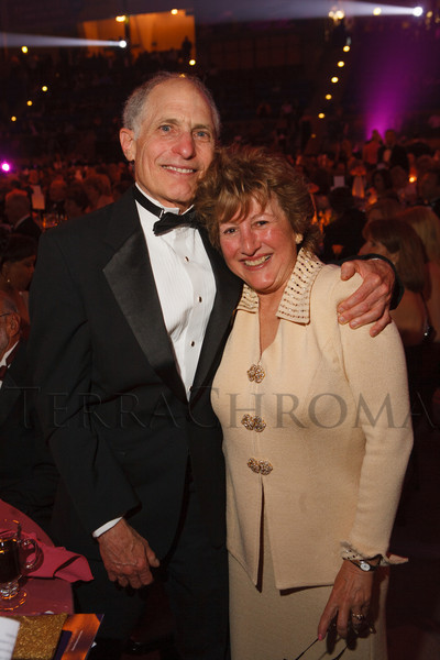 Hal and Dr. Patricia Gabow.  The 2012 NightShine Gala, benefiting the Denver Health Foundation, at the National Western Events Center in Denver, Colorado, on Saturday, April 28, 2012.<br /> Photo Steve Peterson