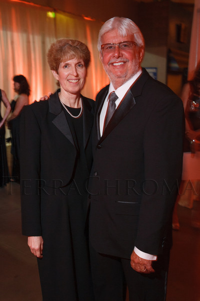 Janice and Jim White.  The 2012 NightShine Gala, benefiting the Denver Health Foundation, at the National Western Events Center in Denver, Colorado, on Saturday, April 28, 2012.<br /> Photo Steve Peterson