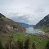 Bei Luzern fangen die dicken Berge an...