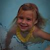Syler sporting her yellow polka dot bikini!