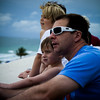 Alec & Brandon watching for the jets at the Ft. Lauderdale Air & Sea Show