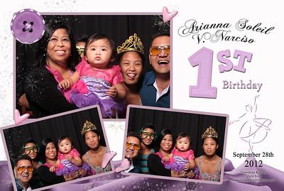 Arianna 1st Birthday