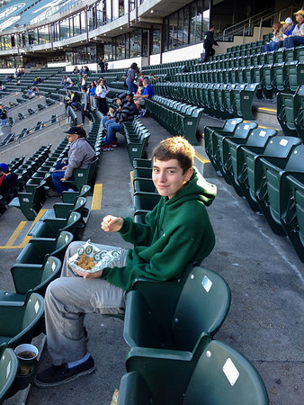 At The A's With Adam