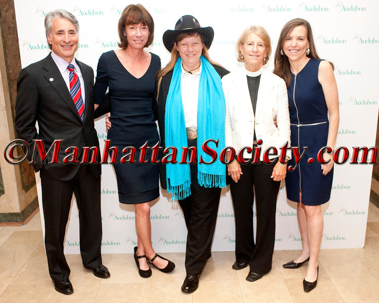 NEW YORK – MAY 22: David Yarnold, Janette Sadik-Khan, L. Hunter Lovins,The Rev. Canon Sally Bingham, Allison Whipple Rockefeller attend National Audubon Society's Women in Conservation Luncheon & 2012 Rachel Carson Awards on Tuesday, May 22, 2012 at The Plaza Hotel, 2 Central Park South, New York CitY, NY (Photos by Christopher London ©2012 ManhattanSociety.com)