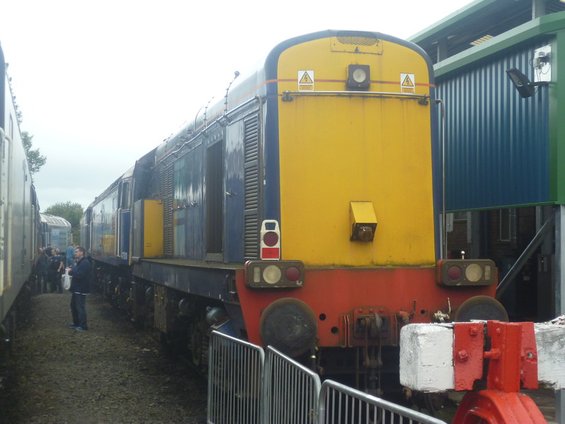 DRS Class 20 at Gresty Bridge depot, Crewe.