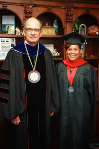 Gardner-Webb University's Master's Summer commencement ceremony; August 2012.