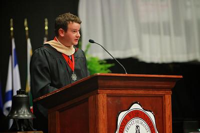 Gardner-Webb University's Master's Summer commencement ceremony; August 2012.