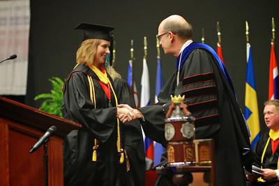 Gardner-Webb University's Undergraduate and GOAL Summer commencement ceremony; August 2012.