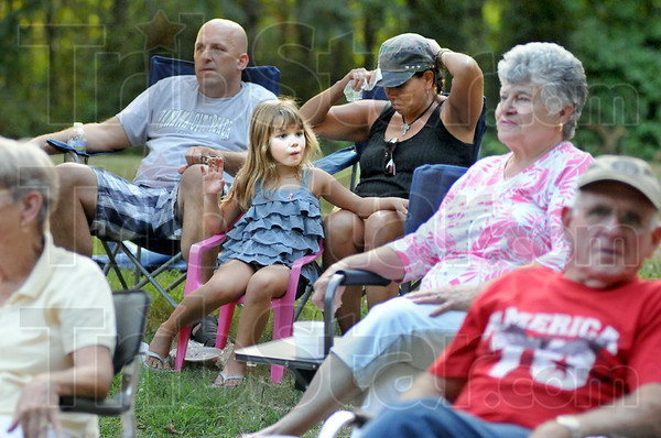 Variety: Young and old festival goers enjoyed the Blue Grass Festival Saturday afternoon in Seelylville.