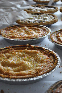 Homemade pies.