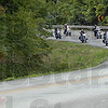 Governor: Governor Mitch Daniels (L) leads a pack of over 800 motorcycles to the entrance of the Shakamak State Park Friday afternoon.