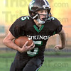 Running room: West Vigo's #5 Hunter Voils looks for some running room on a punt return against Evansville Harrison Friday night.