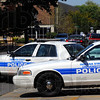 Tribune-Star/Jim Avelis<br /> On patrol: Indiana State University public safety officers begin their afternoon shift Friday.