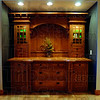 Tribune-Star/Joseph C. Garza<br /> Big idea: This arts and crafts hutch is on display at the Dan Carr Signature Interiors showroom which is sponsoring the Small Spaces/Big Ideas home tour.