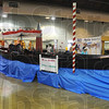 Tribune-Star/Jim Avelis<br /> Classy ride: The gondola used in Clinton's Little Italy festival is on display in the Ciao Italia exhibit at the Indiana State Fair.