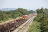 10 August 2012 :: Going away shot of 60040 at Coedkernew working 6E66, Margam to Scunthorpe empty steel
