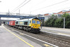 16 August 2012 :: 66568 at Wolverton on 4M51, Tilbury to Daventry