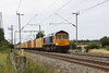 16 August 2012 :: 66721 at Milton with 4L22, Hams Hall to Felixstowe