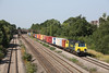 10 August 2012 :: 70007 at Undy working 4O51 Wentloog to Southampton