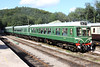20 August 2012 :: DMU posing in afternoon sunshine at Norchard on the Dean Forest Railway