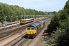 17 August 2012 :: 66746 & 66738 passing Bartons Mill sidings at Basingstoke on 0Y68, Peterborough to Eastleigh