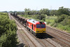 10 August 2012 :: 60040 at Coedkernew working 6E66, Margam to Scunthorpe empty steel