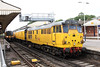 9 August 2012 :: 31285 at Basingstoke station working 3Z80, Derby to Eastleigh test train
