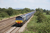 10 August 2012 :: 66305 at Coedkernew on the Daventry to Wentloog 'Tesco Express', 4V38