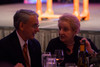 Chancellor Robert Coombe speaks with Madeleine Albright.  The Fifteenth Annual Korbel Dinner, benefiting the Josef Korbel School of International Studies, at the Sheraton Denver Downtown Hotel in Denver, Colorado, on Wednesday, Aug. 15, 2012.<br /> Photo Steve Peterson