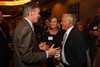 Gov. John Hickenlooper speaks with Cathy and Walter Isaacson.  The Fifteenth Annual Korbel Dinner, benefiting the Josef Korbel School of International Studies, at the Sheraton Denver Downtown Hotel in Denver, Colorado, on Wednesday, Aug. 15, 2012.<br /> Photo Steve Peterson