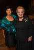 Margot Frank and Madeleine Albright.  The Fifteenth Annual Korbel Dinner, benefiting the Josef Korbel School of International Studies, at the Sheraton Denver Downtown Hotel in Denver, Colorado, on Wednesday, Aug. 15, 2012.<br /> Photo Steve Peterson