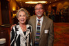 Kathi Brock and Rick Gabrielson.  The Fifteenth Annual Korbel Dinner, benefiting the Josef Korbel School of International Studies, at the Sheraton Denver Downtown Hotel in Denver, Colorado, on Wednesday, Aug. 15, 2012.<br /> Photo Steve Peterson