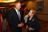 Lee McIntire and Madeleine Albright.  The Fifteenth Annual Korbel Dinner, benefiting the Josef Korbel School of International Studies, at the Sheraton Denver Downtown Hotel in Denver, Colorado, on Wednesday, Aug. 15, 2012.<br /> Photo Steve Peterson