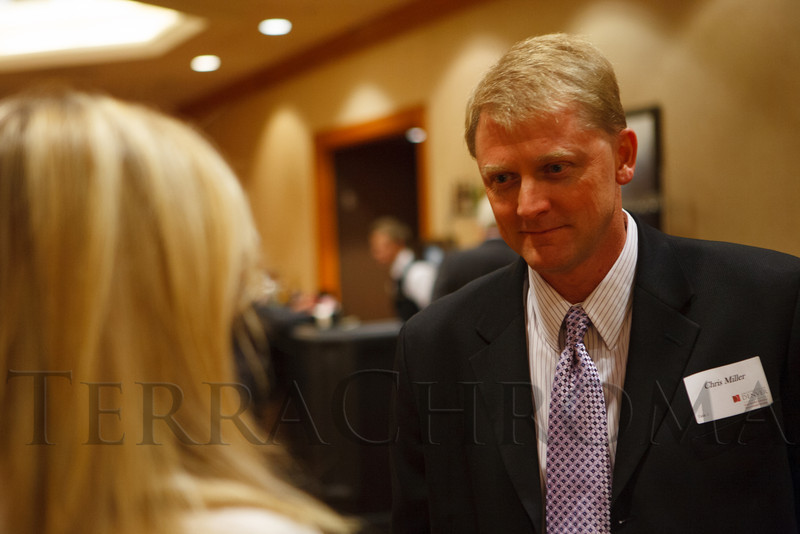 Chris Miller.  The Fifteenth Annual Korbel Dinner, benefiting the Josef Korbel School of International Studies, at the Sheraton Denver Downtown Hotel in Denver, Colorado, on Wednesday, Aug. 15, 2012.<br /> Photo Steve Peterson